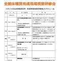 2017/3/24(金)全館床暖房完成現場視察研修会in酒田市